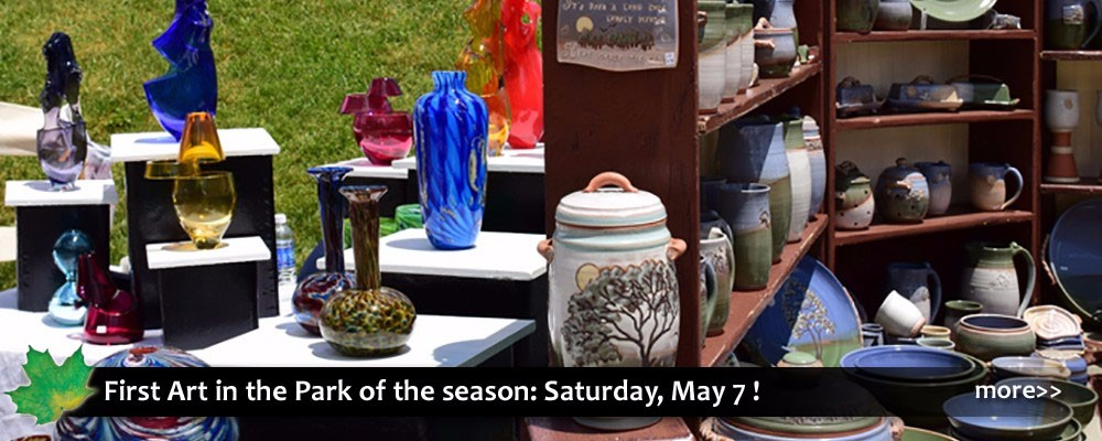 Art in the Park in Blowing Rock NC