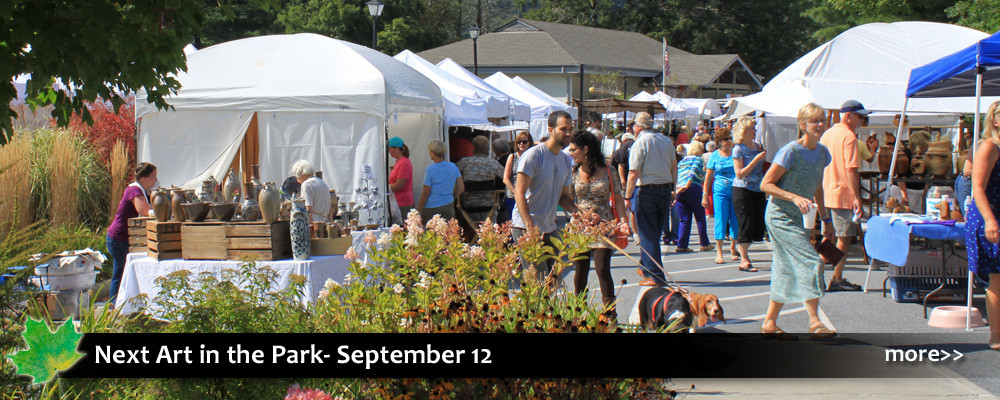 Art in the Park is an outdoor fine arts & crafts show with 90 vendors showing paintings, scultpure, photography, textiles, jewelry, pottery, and more.