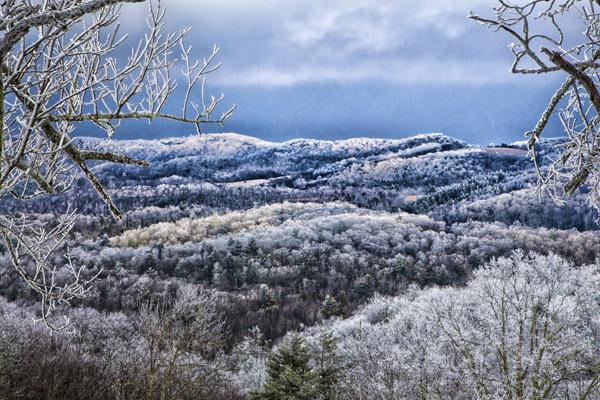 blowing rock winter - photo by Jim Ruff
