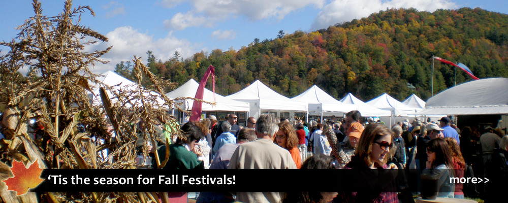 Fall festivals near Boone, Blowing Rock, and Banner Elk NC in the North Carolina High Country. Music, crafts, apples, food, entertainment, woolly worm, heritage events.