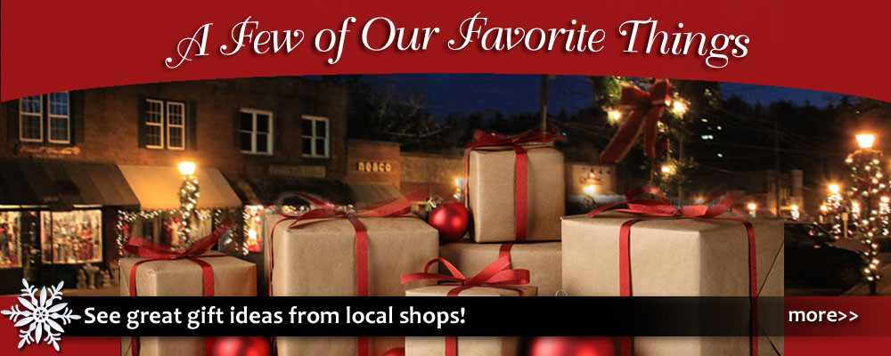 Blowing Rock always has great shopping, and this list of favorite things from local shops is a great gift guide for Christmas and the holidays.