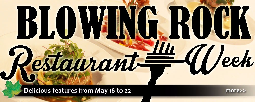 restaurant week in blowing rock nc with deals, specials, and new menus