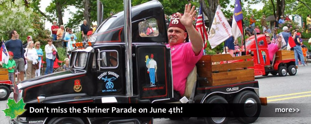 shriner parade in blowing rock nc