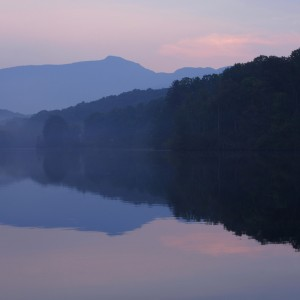 Julian Price Lake on the Blue Ridge Parkway. Photo by Todd Bush