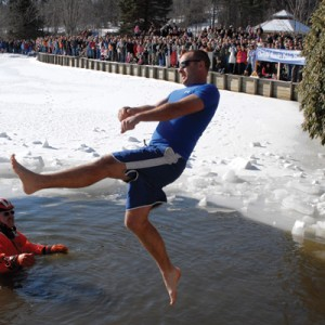 blowing rock winterfest polar plunge at chetola resort