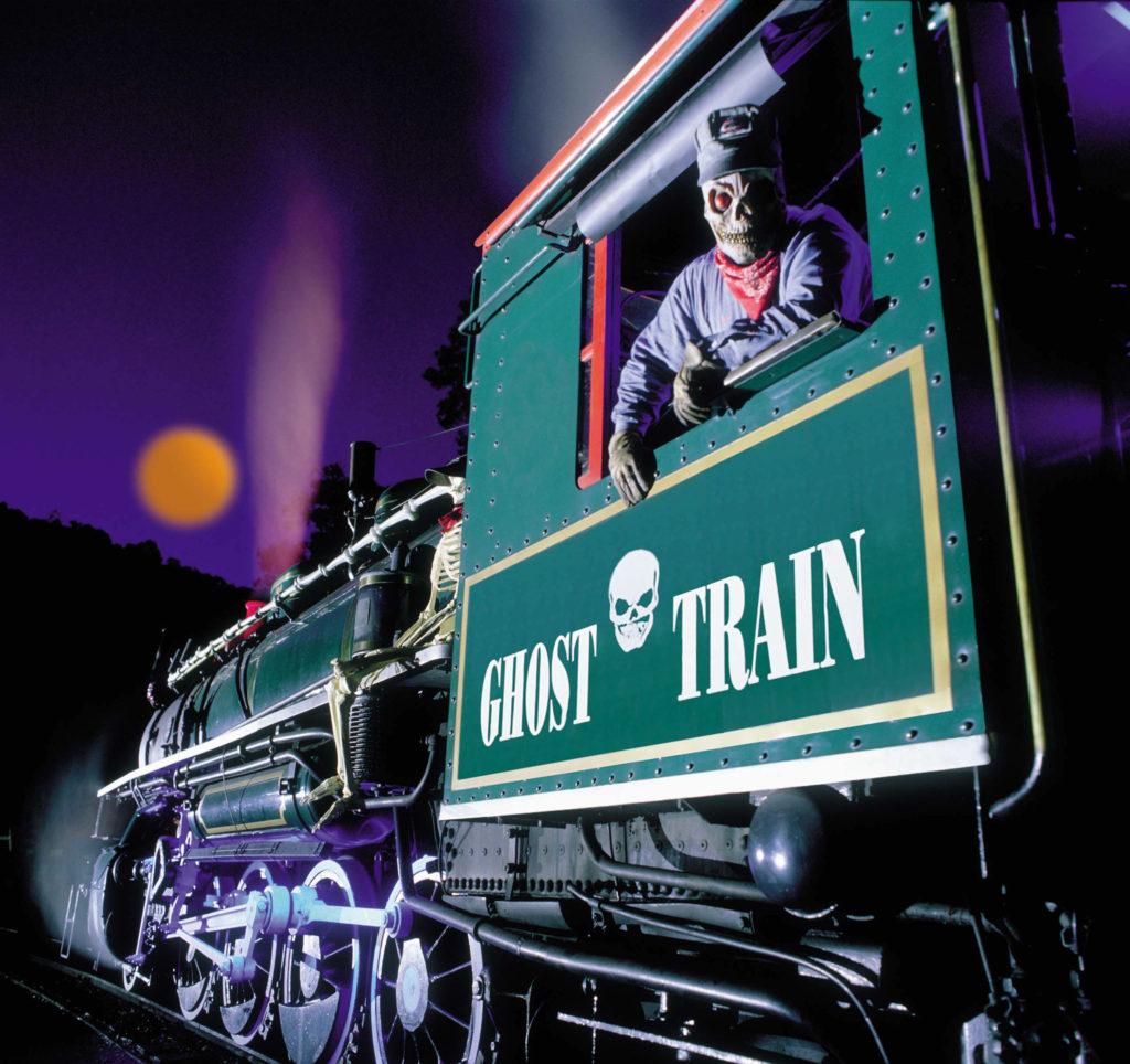 tweetsie railroad's ghost train halloween festival