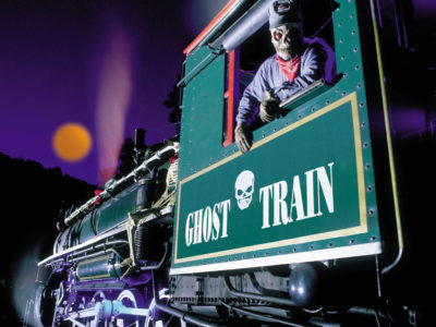 Ghost Train Halloween Festival at Tweetsie