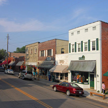 Blowing Rock's Main Street Gets Award for being a Great Place in North Carolina