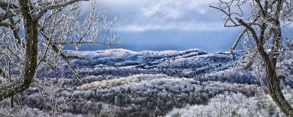 winter in blowing rock, nc by jim ruff