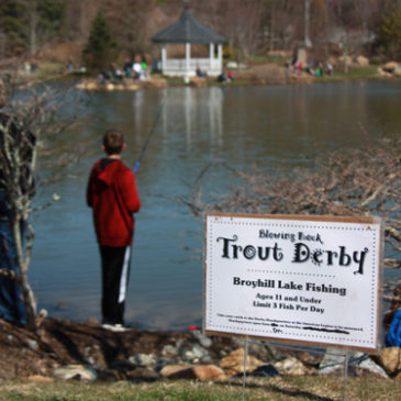 Blowing Rock Trout Derby