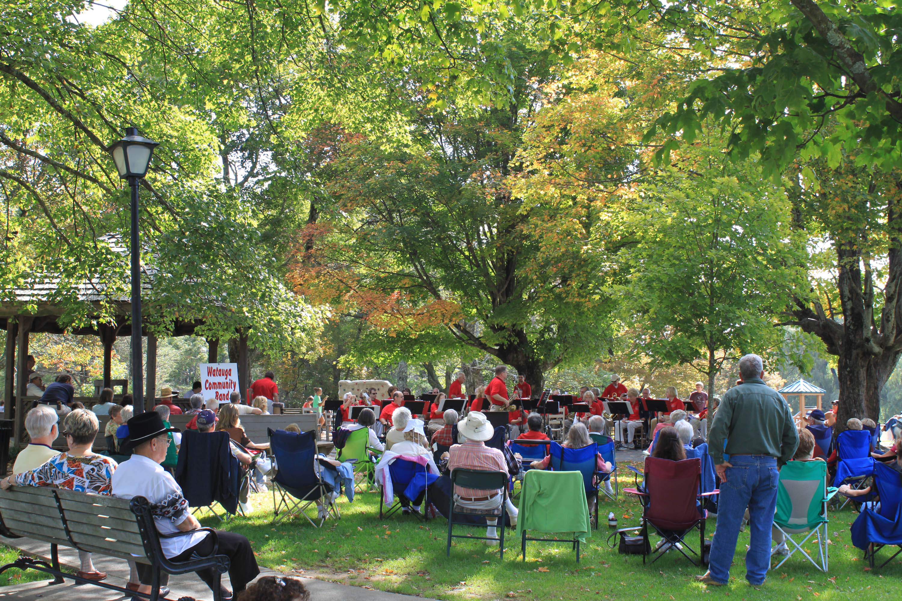 Concerts In The Park Blowing Rock North Carolina