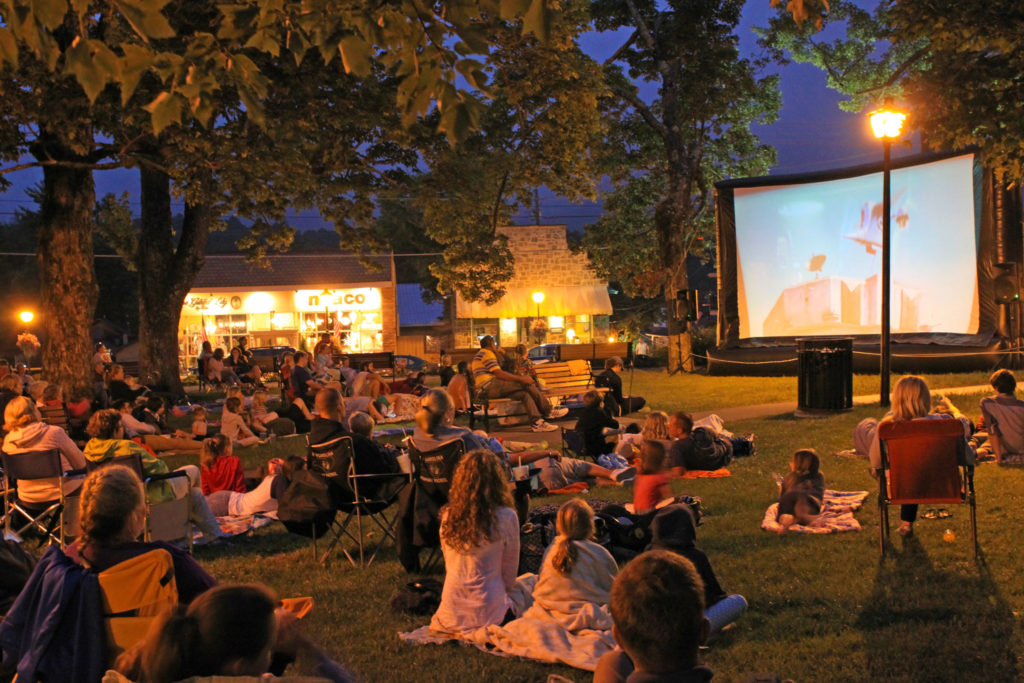 Movies in the park blowing rock nc