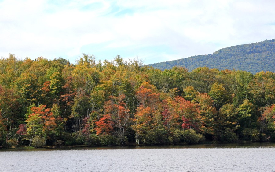 Early fall color at Price Lake 2015