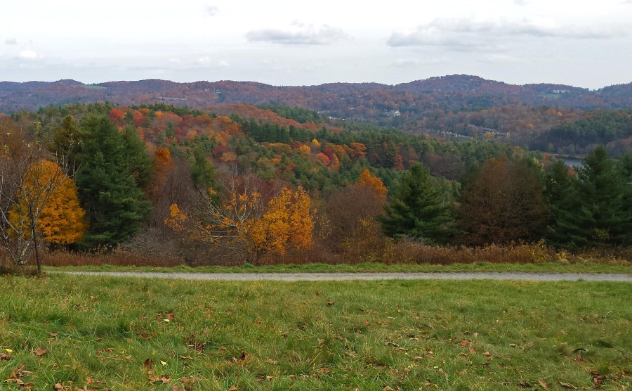Fall foliage in Blowing Rock