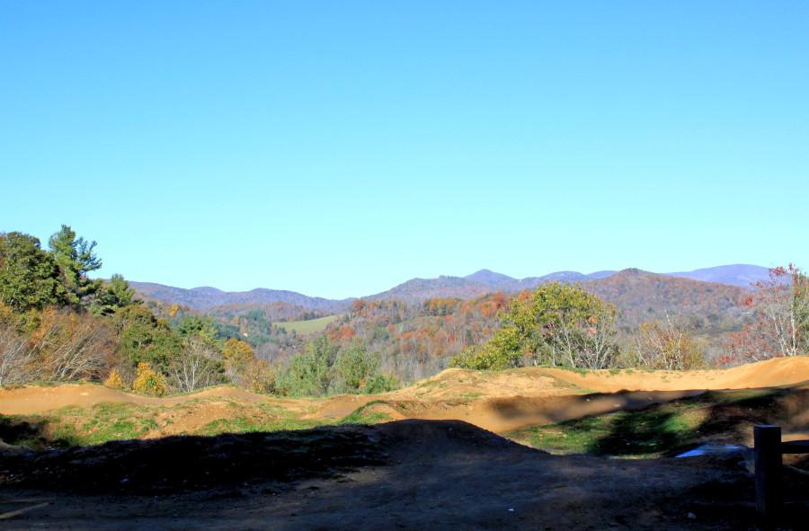 Blue Ridge Mountains in fall