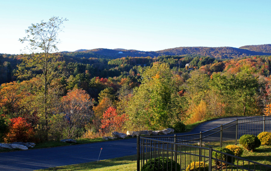 Blowing Rock Fall Foliage