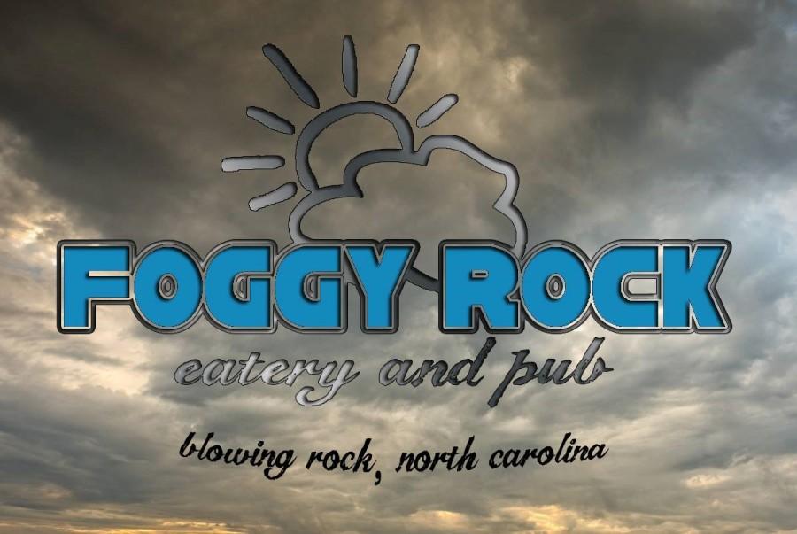 logo for foggy rock restaurant