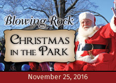 blowing rock christmas in the park