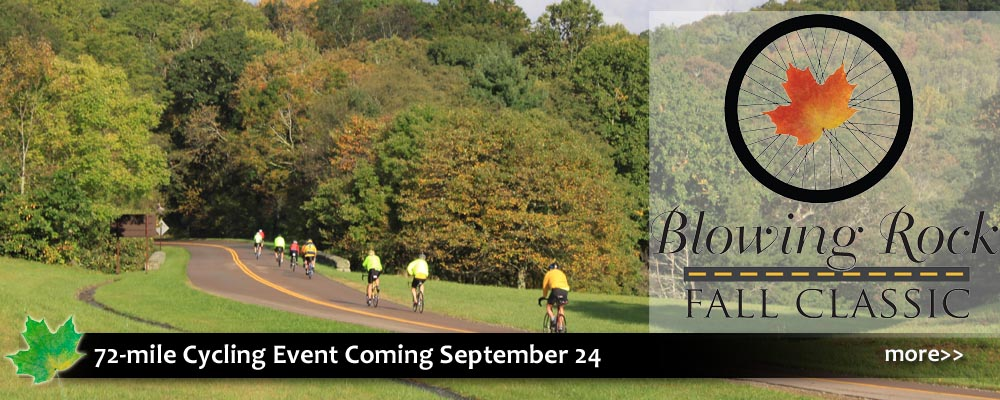 Blowing Rock Fall Classic cycling event, road biking, sports, mountians, elevation gain