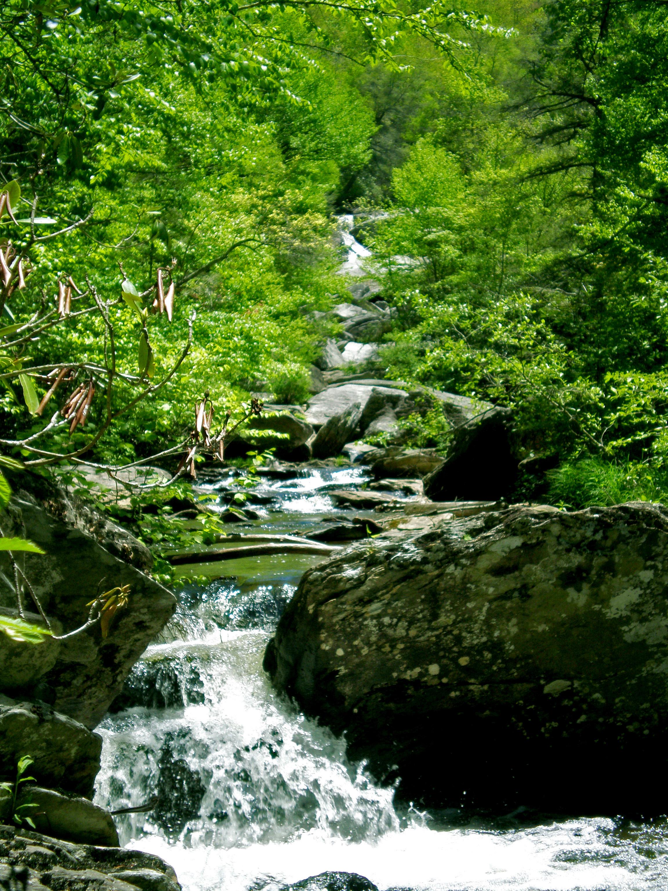 Hebron Falls, waterfalls near Blowing Rock NC