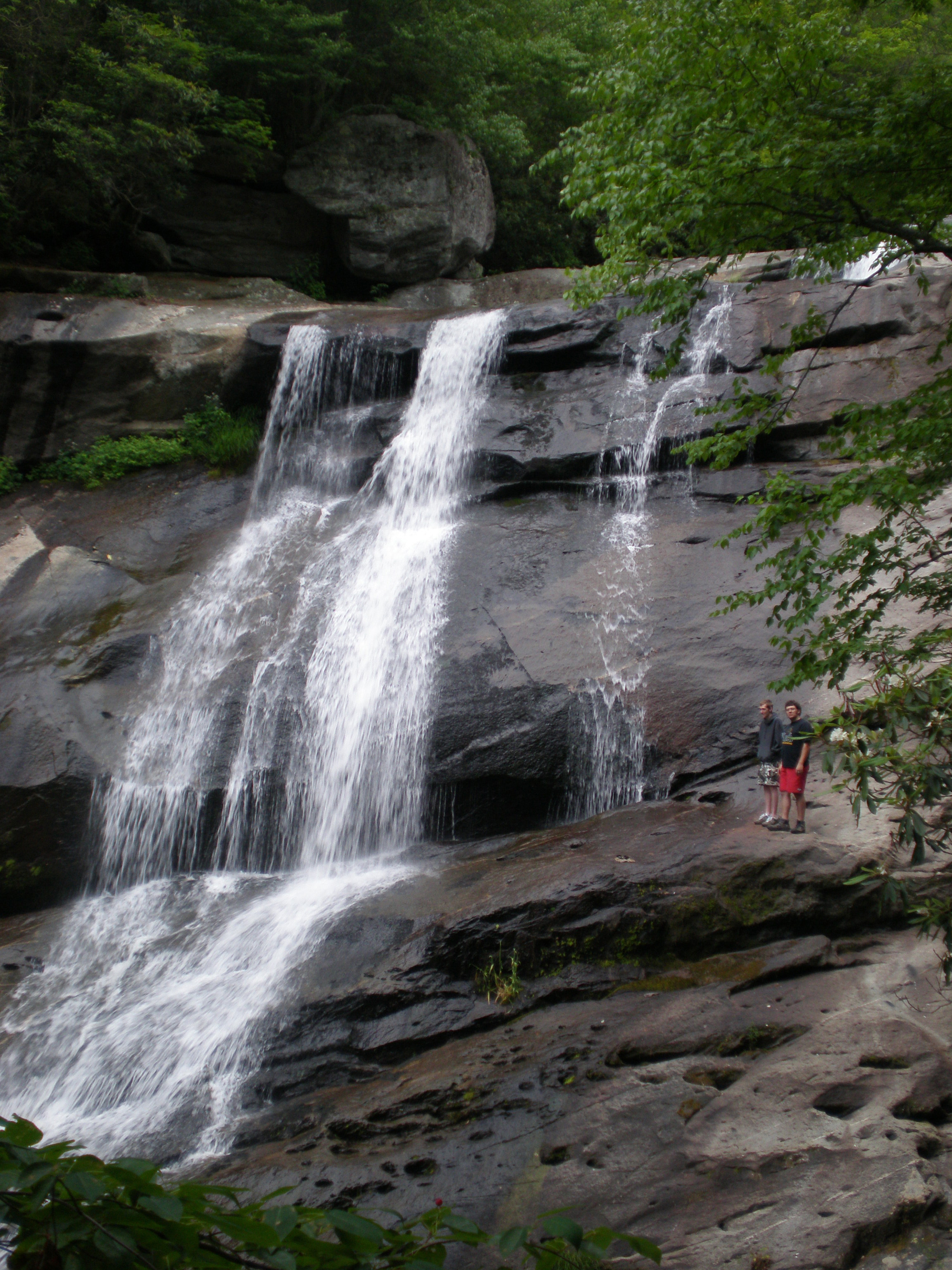 Waterfall near Blowing Rock, NC