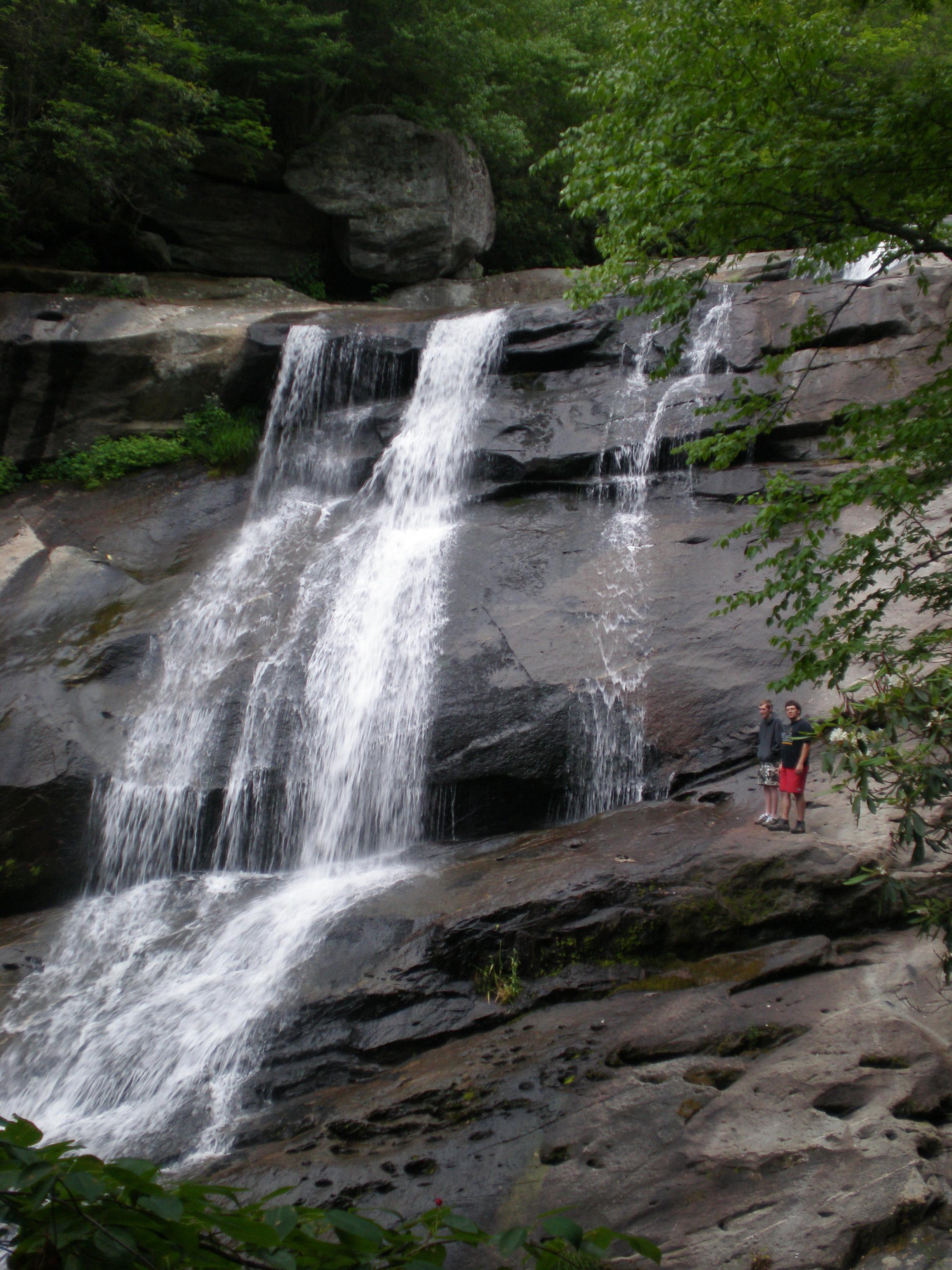Waterfall near Blowing Rock, NC