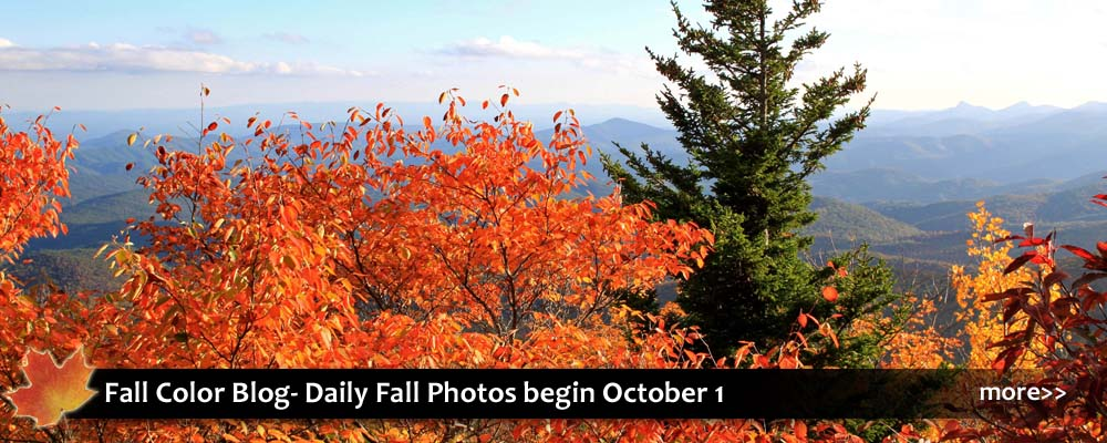 Fall foliage photos and autumn activities in Blowing Rock and NC High Country near Boone