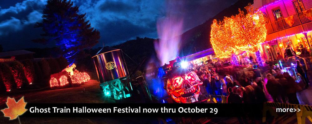 Ghost Train Halloween Festival at Tweetsie Railroad in Blowing Rock, NC