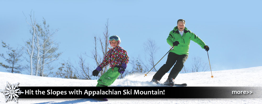 skiing and snowboarding at Appalachian Ski Mountain