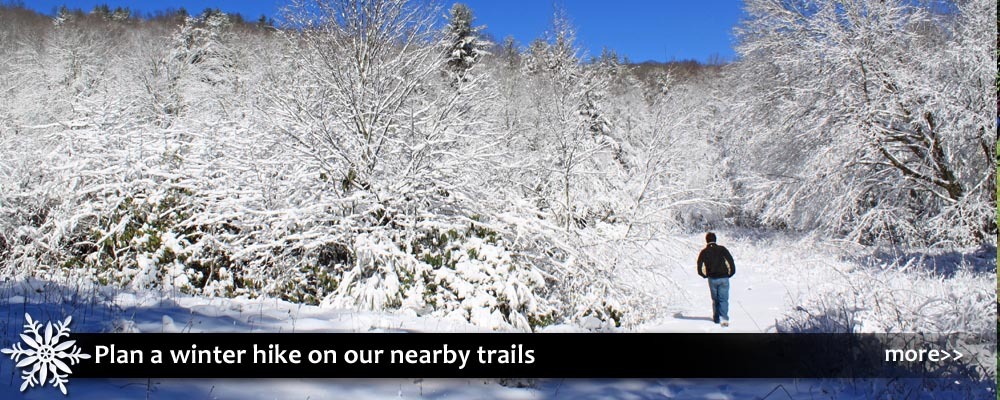 winter hiking trails in blowing rock north carolina