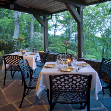 The Restaurant at Gideon Ridge is One of America's 100 Most Scenic