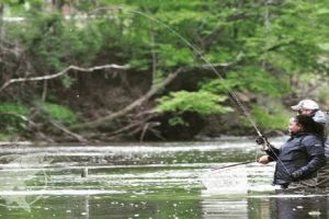 Fishing Near Blowing Rock