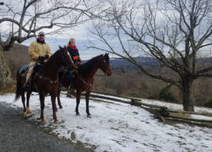 vx3 horse back trail rides in Blowing Rock