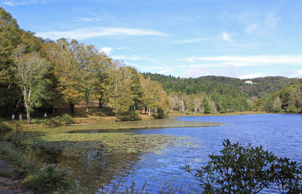 Bass Lake in Blowing Rock NC, Sept 28, 2018