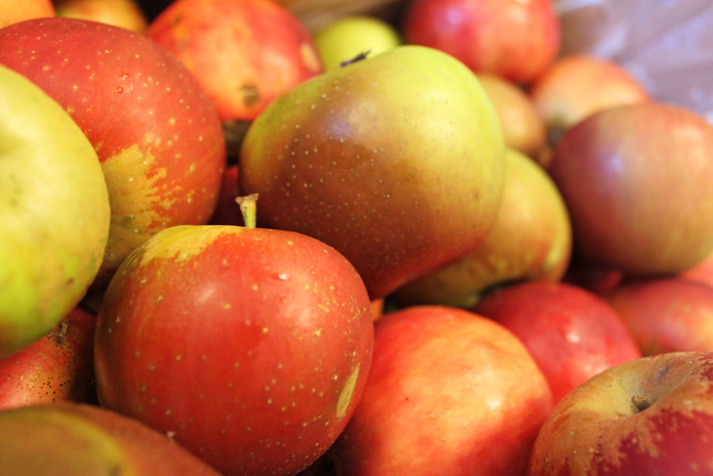 local apples from Moretz mountain orchard