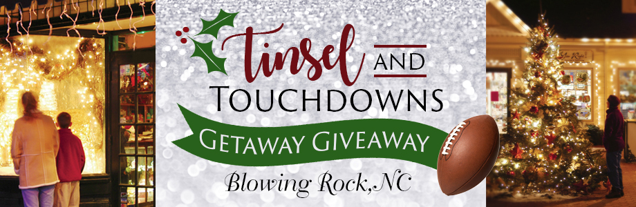 tinsel and touchdowns holiday giveaway with appalachian state university