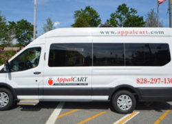 Summer Weekend Shuttle in Blowing Rock