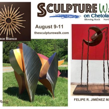 New Event! Sculpture Walk on Chetola Lake