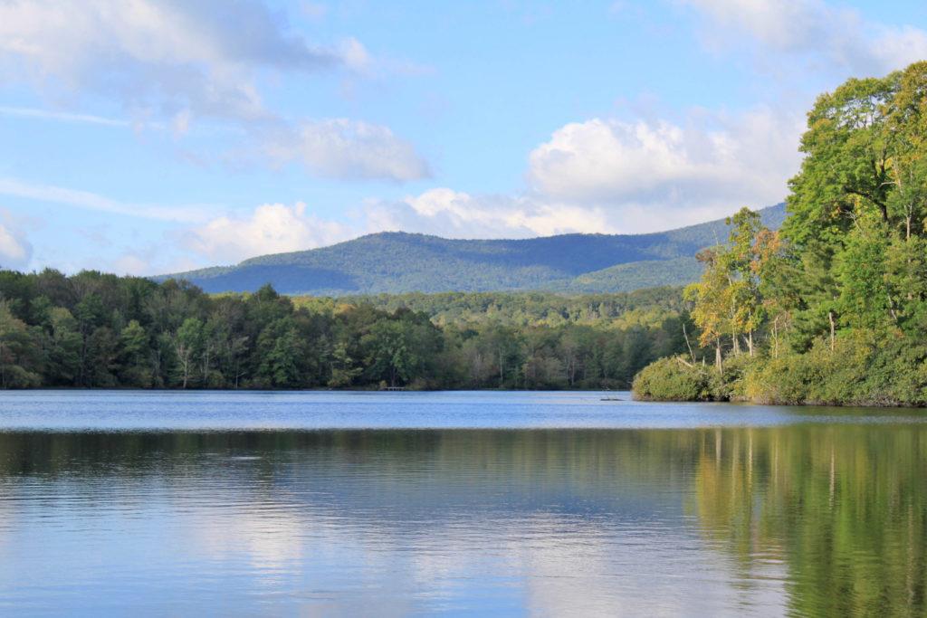 Price Lake on the Blue Ridge Parkway