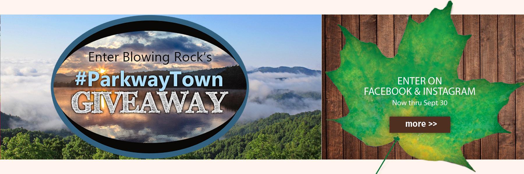 Parkwaytown giveaway