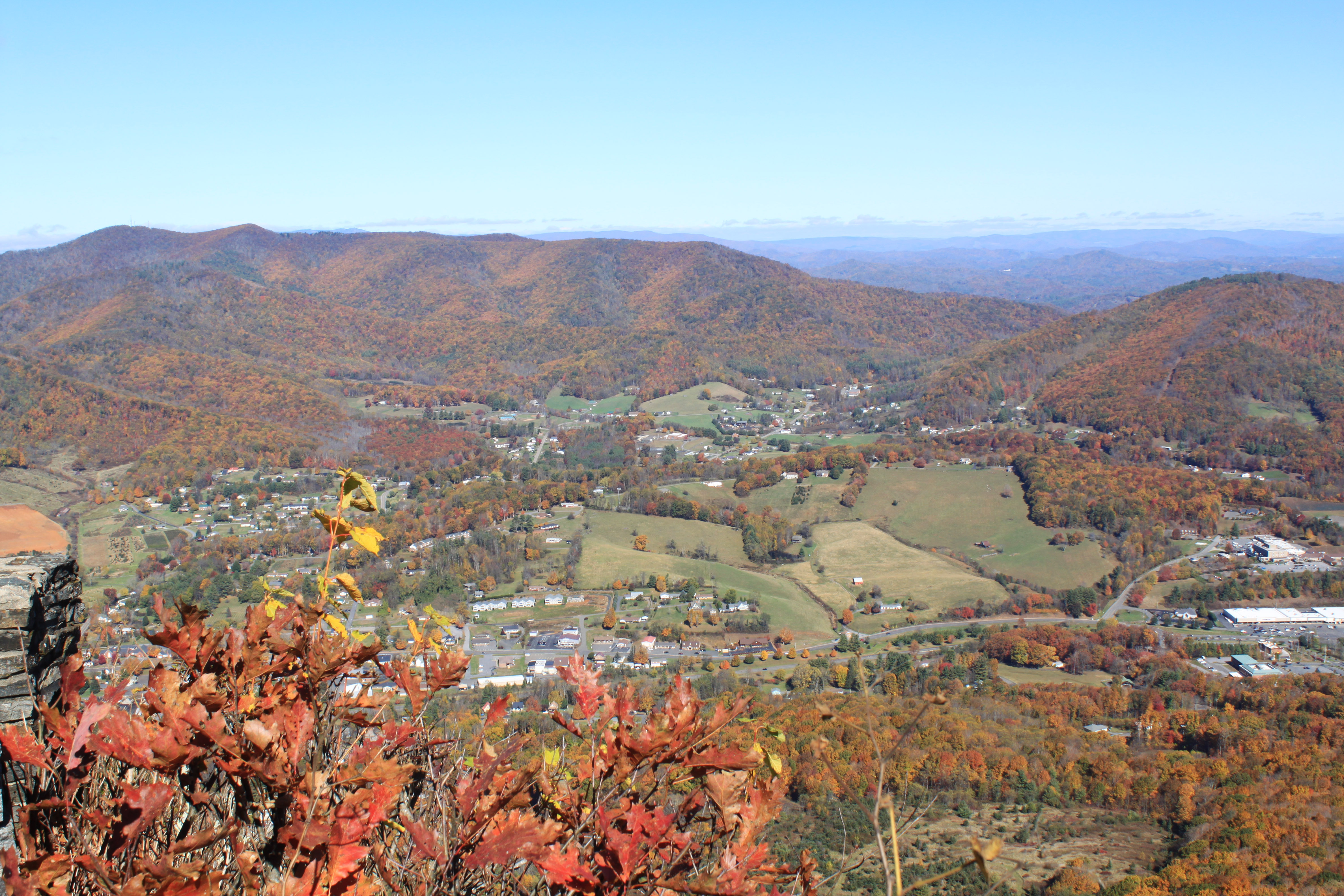 Ashe County fall view