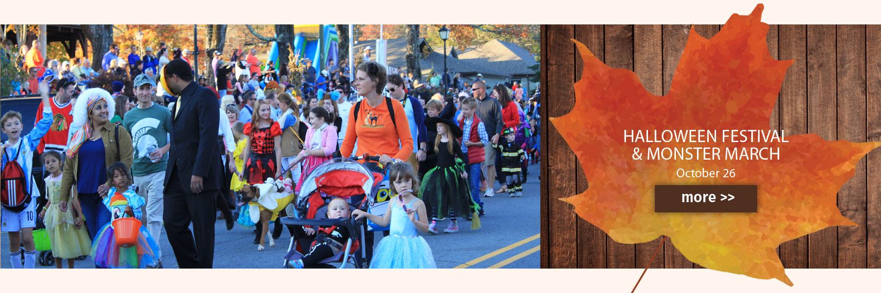 halloween festival slide
