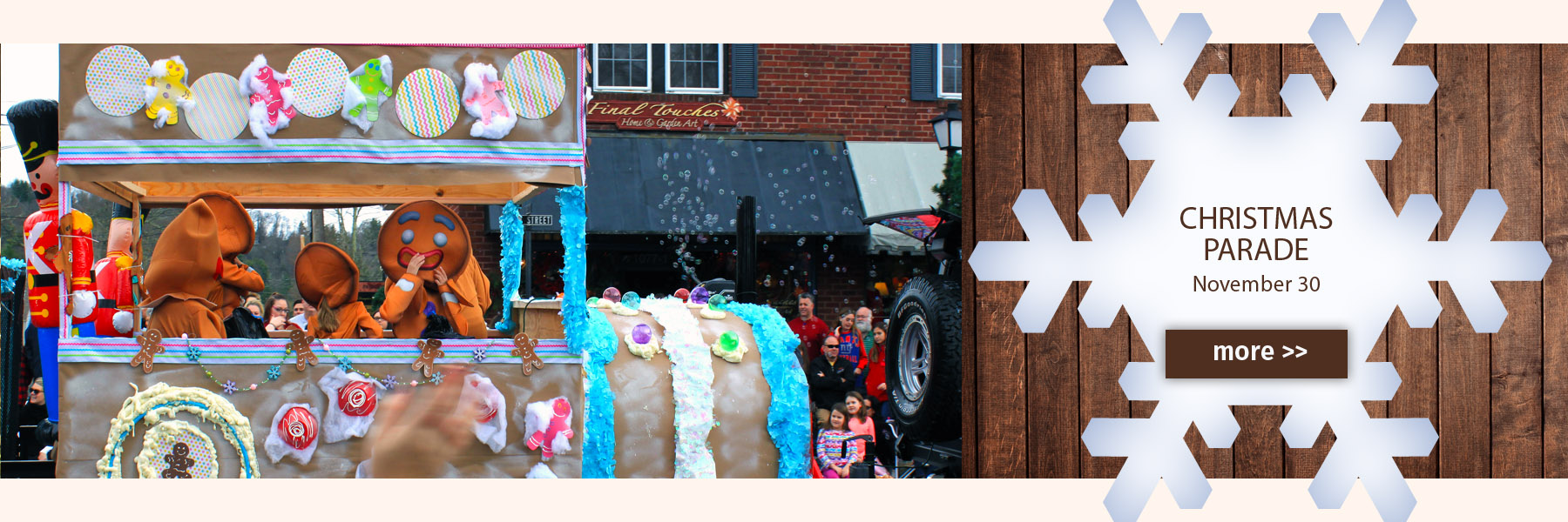 Christmas Parade in Blowing Rock