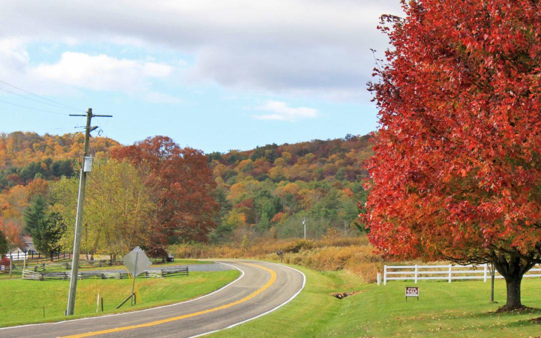 rural fall color