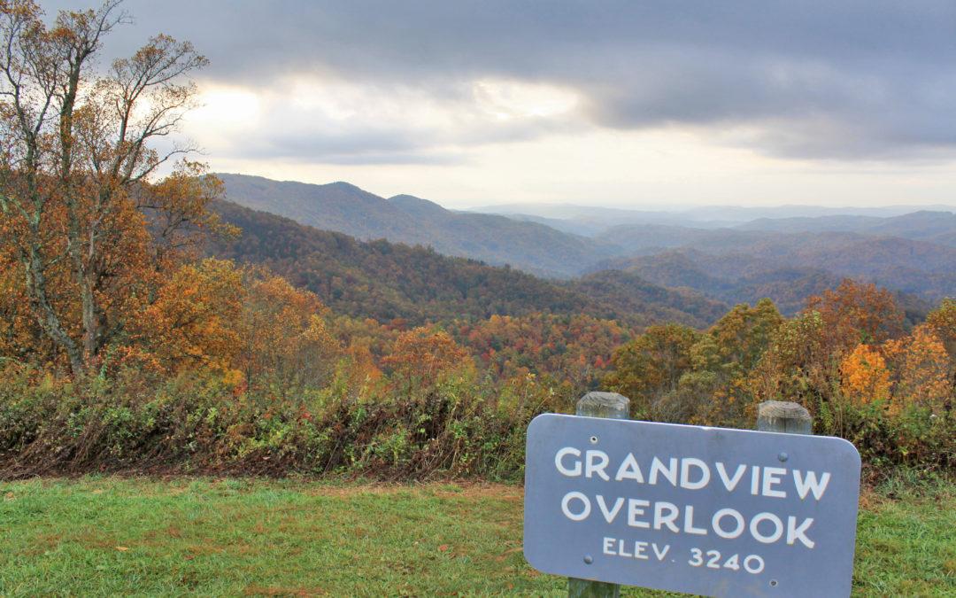 fall view at Grandview Overlook