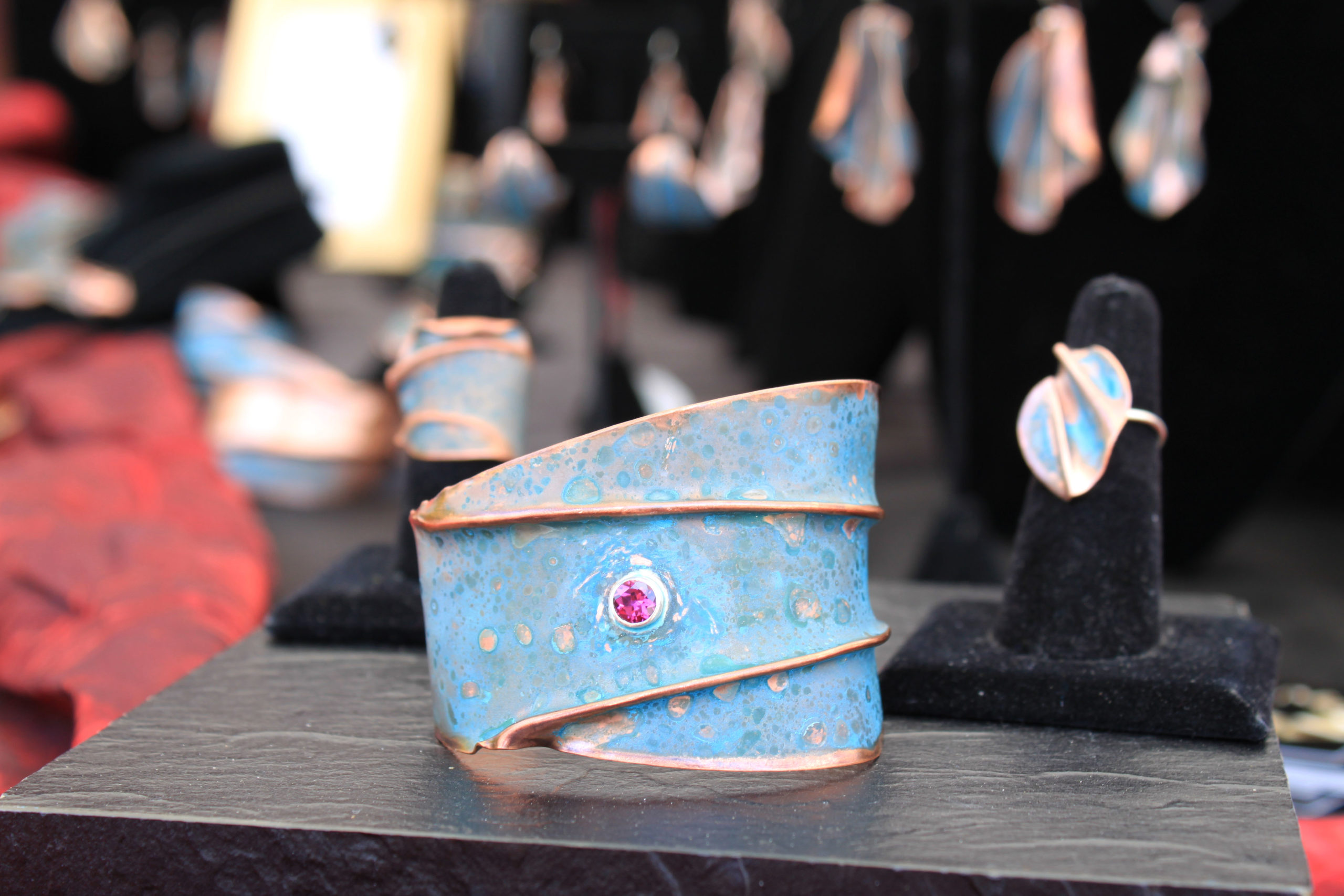 jewelry at art in the park