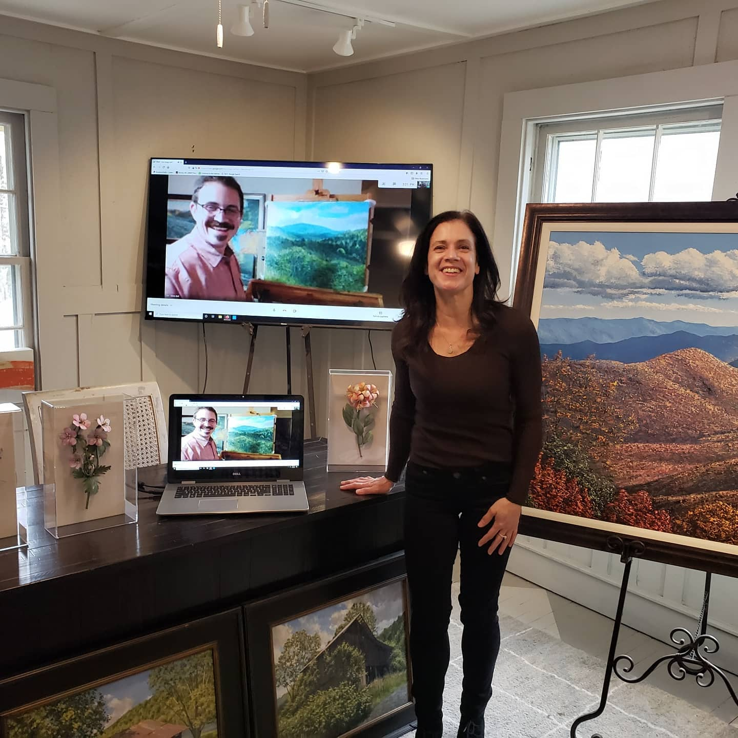 virtual artist at martin house gallery