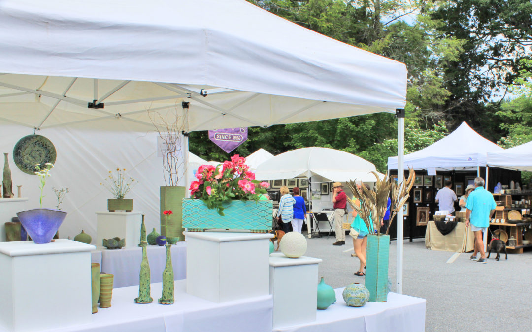 Art in the Park is an Outdoor Gallery
