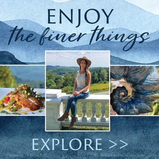 explore the finer things in blowing rock button