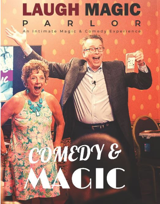 Laugh Magic Parlor: An Intimate Magic & Comedy Experience